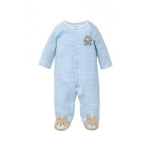 Chevron Bear Footie