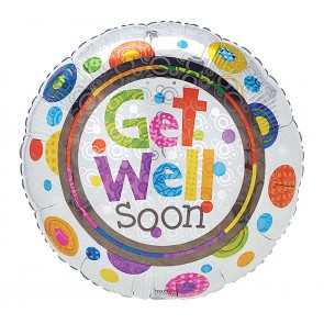 Small Get Well Balloon