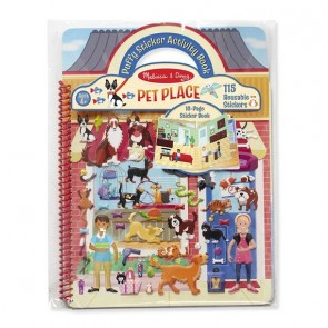 Melissa & Doug Puffy Sticker Activity Book