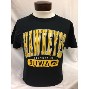 Unisex Short Sleeve Tee Hawkeyes